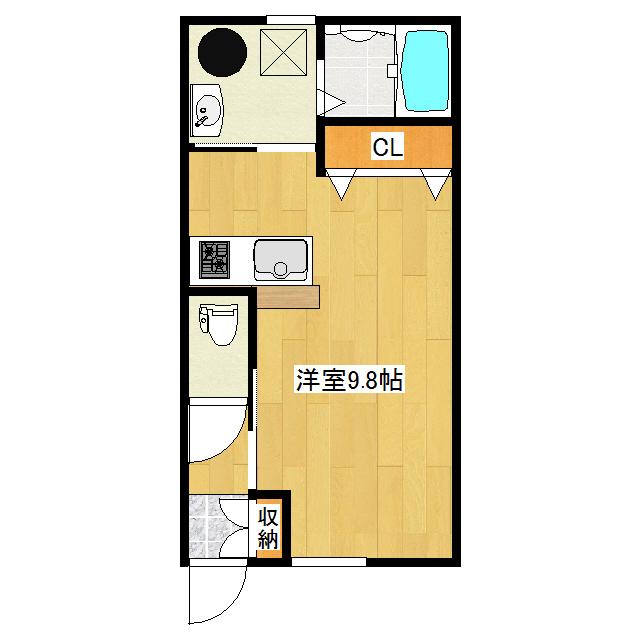 Avenir II 1-D号室