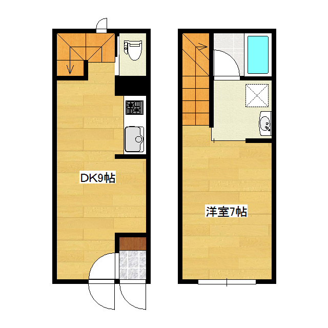 米wishII 1号室