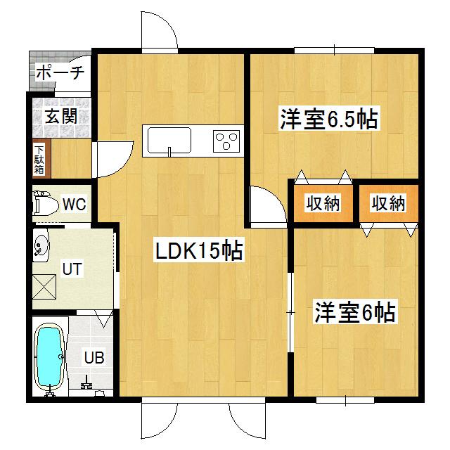 コンフォートリッツハイツB 101号室