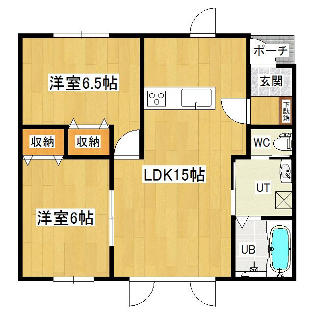 コンフォートリッツハイツB 102号室