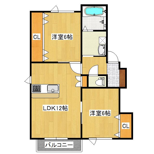 プレオ 2-B号室