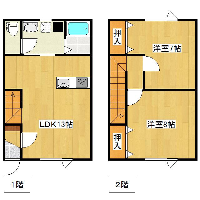 スーパーハイム光西A B号室