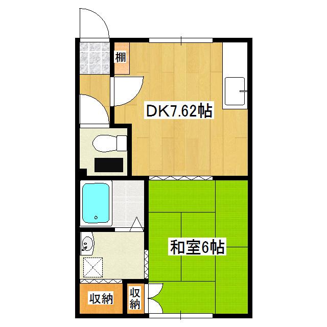 コーポ佐藤 7号室
