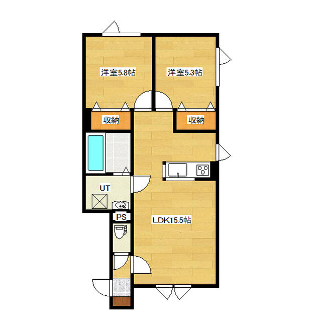 仮)東三輪1丁目新築 2-B号室