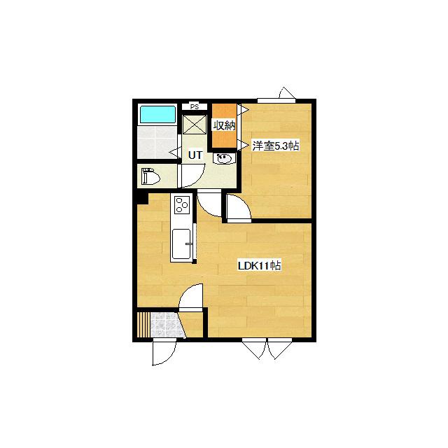 仮)東三輪1丁目新築 1-D号室