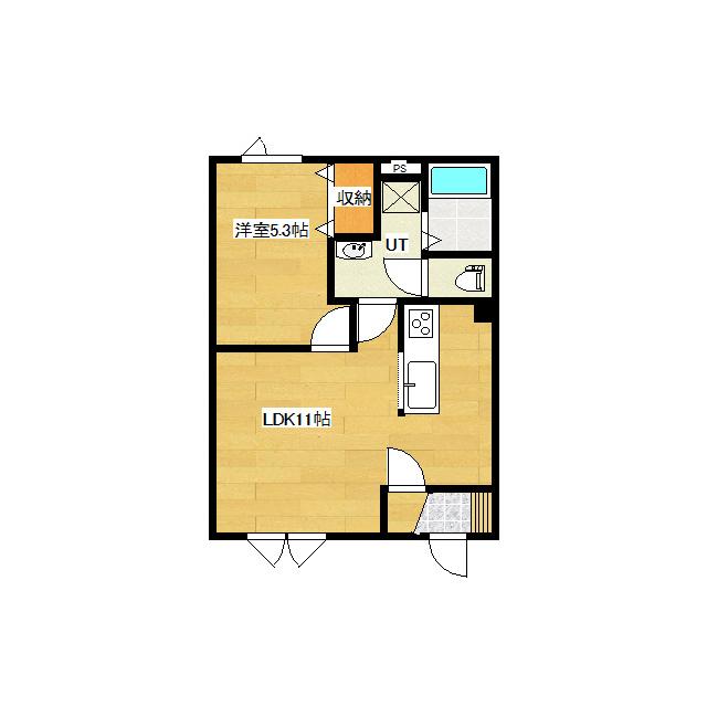 仮)東三輪1丁目新築 2-C号室