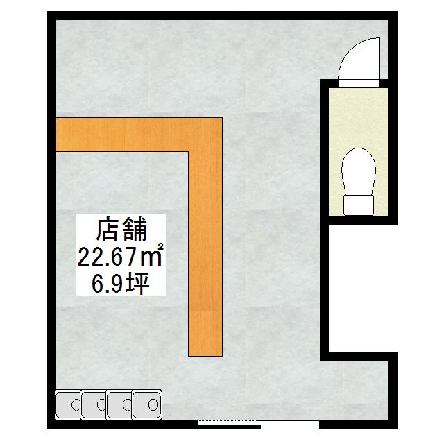 北5条西3丁目12−1店舗 3号室