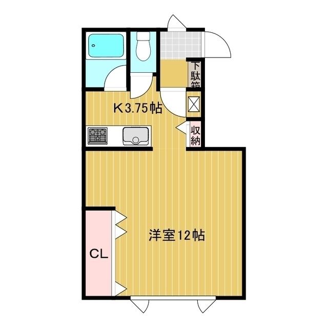 アパートメントM A号室