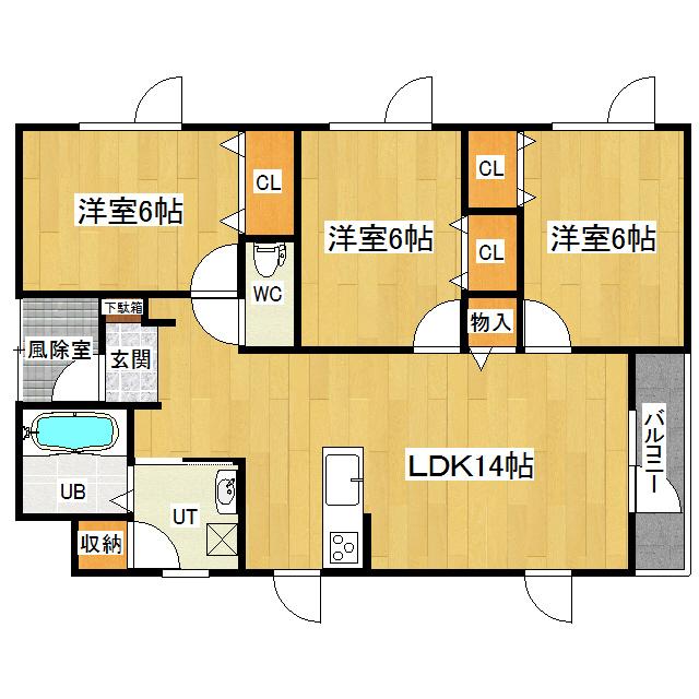 K's VI 1-A号室