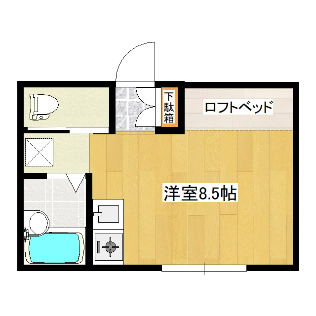 カレージア5 107号室