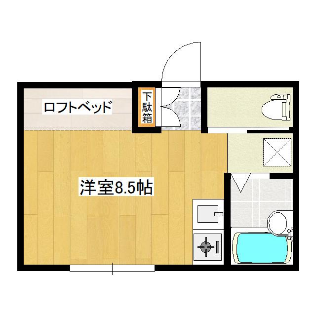 カレージア5 105号室