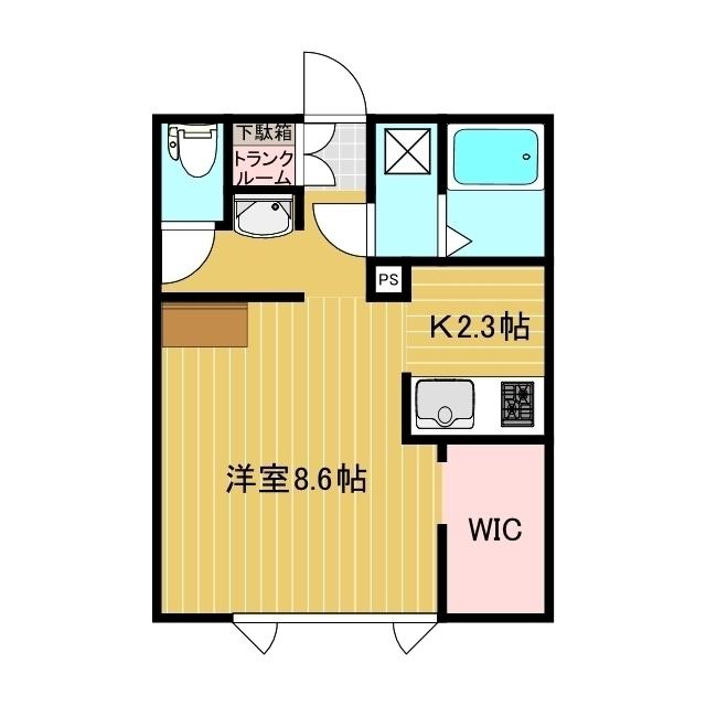 Lulu HouseII 1-A号室