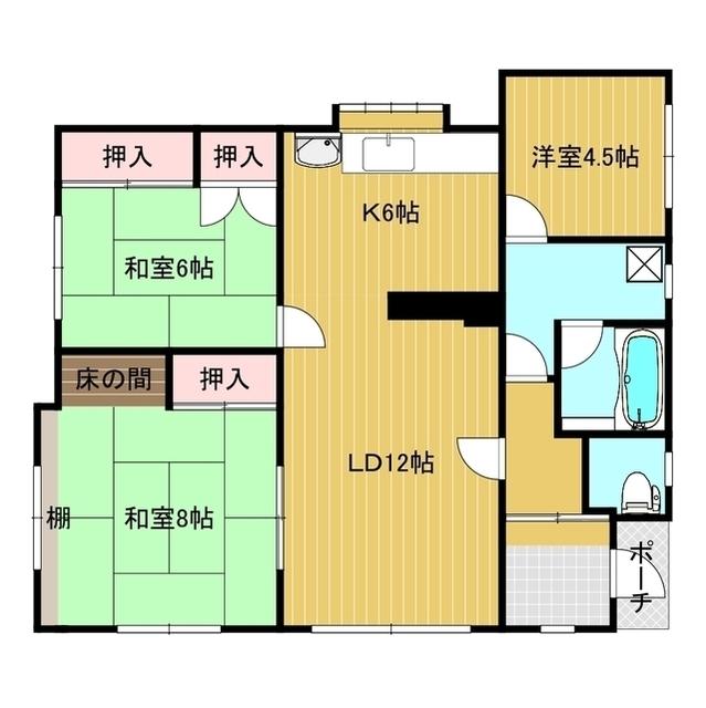 末広町172−52貸家 1号室