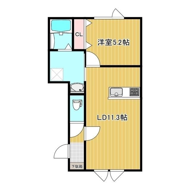 INDIGO.I 1-B号室