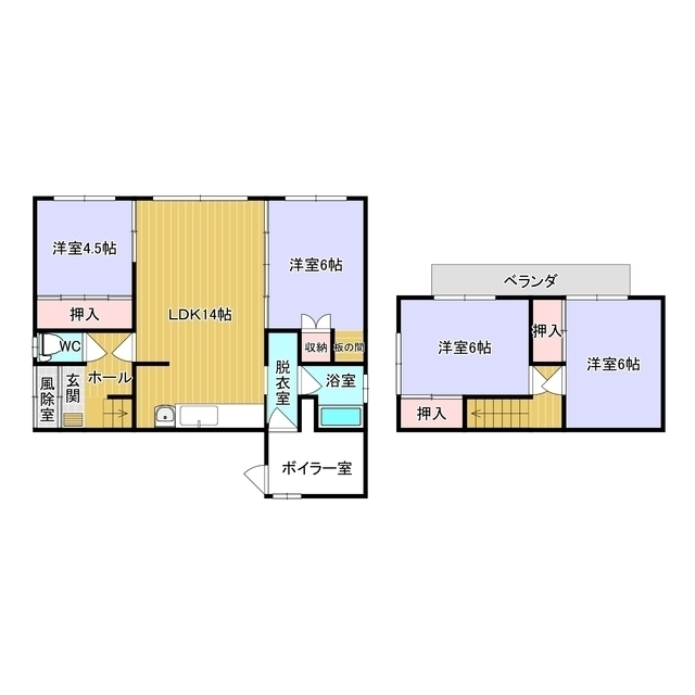 元町48番地50貸家 1号室