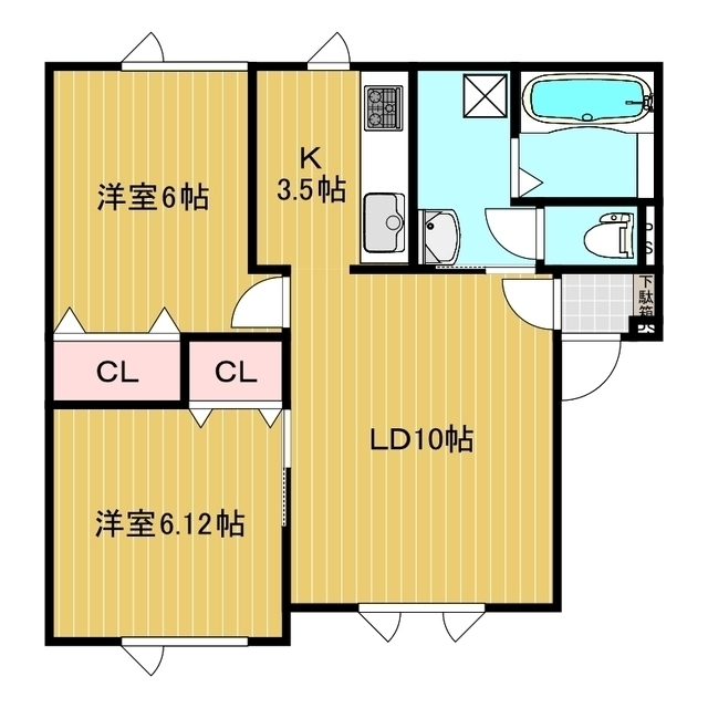 コーポライブリー 101号室