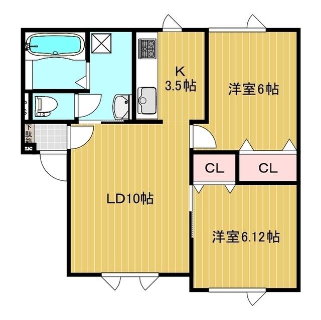コーポライブリー 102号室