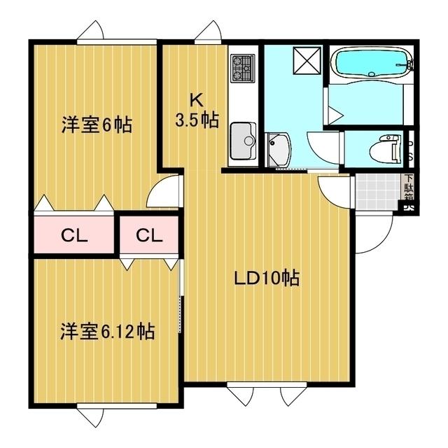 コーポライブリー 203号室