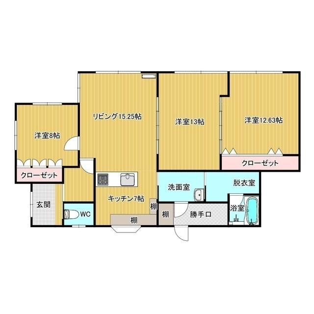 菅原貸家(美幌稲美) 1号室