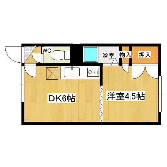 とん田パールハイツ 201号室