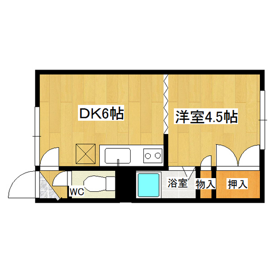 とん田パールハイツ 202号室