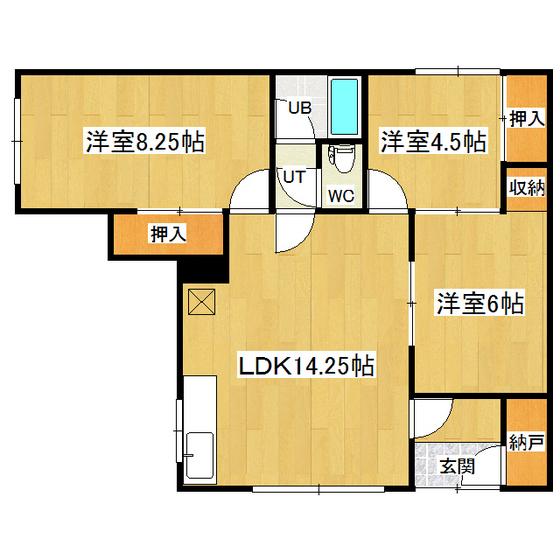 コーポ杉の子7・8 7号室