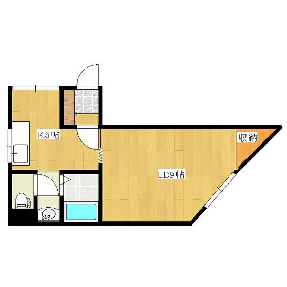 オリス山下B 204号室